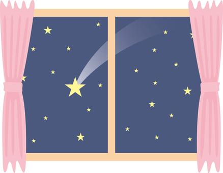 Window meteor