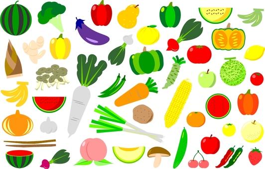 Vegetable / fruit set