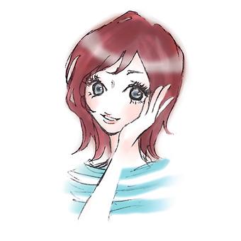 Woman smiling 2