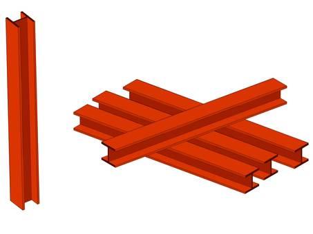 Tibia (H-shaped steel)