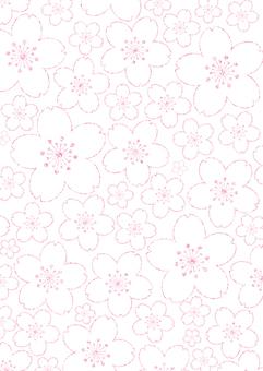 벚꽃 배경 2