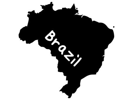 Brazil silhouette