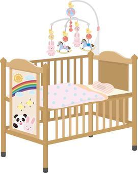 Baby Bed Futon