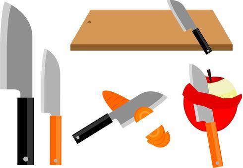 Kitchen knife ~ type G ~