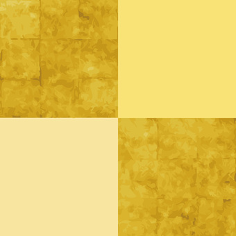 Vector data & amp; swatch pattern gold leaf picture