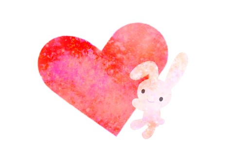 Heart rabbit