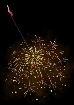 Incense flower background