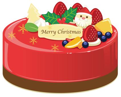 Berry's Christmas cake