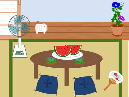 Summer seat in Japan · Shabu-babe frame