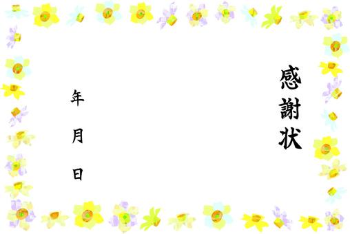 Daffodil's letter of appreciation