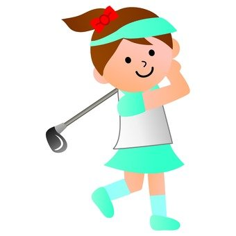 Golf player (female)