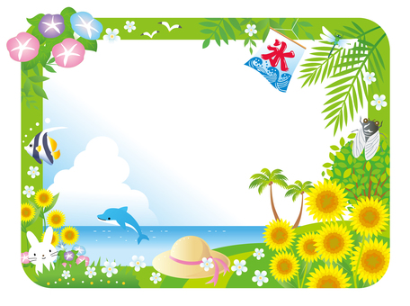 Summer season frame