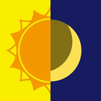 태양과 달의 아이콘