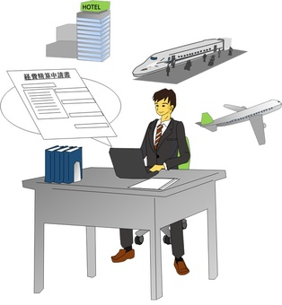 Men who apply for business expense at company