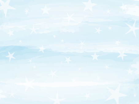 Background watercolor touch star blue