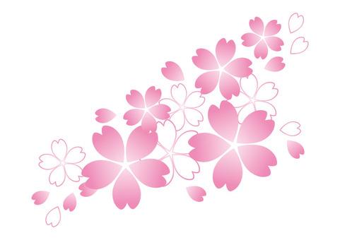 간단한 벚꽃 2