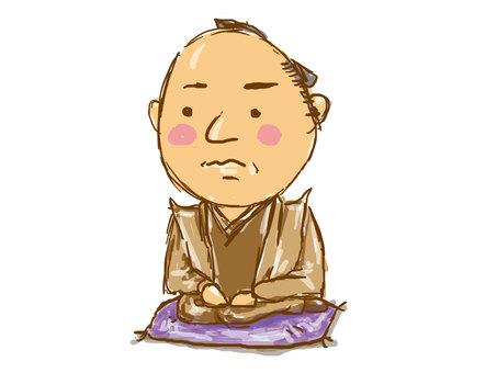 Shimazu ichiraka caricature picture