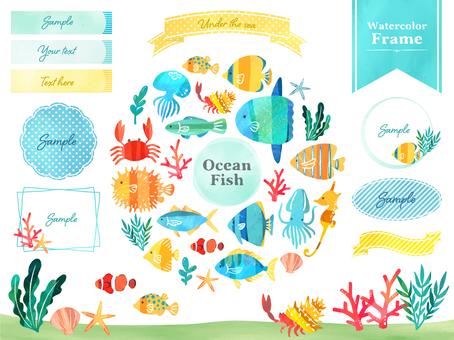 Fish frame set