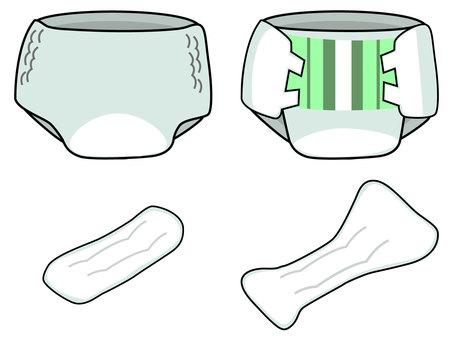 切尿布的类型