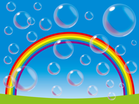 Soap bubble (7) Rainbow