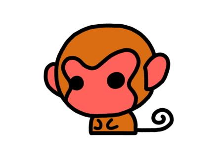 日本猴子紅
