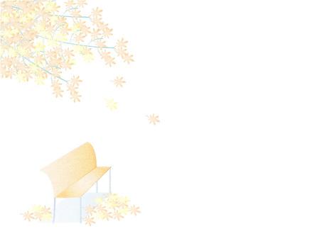 秋葉和長凳