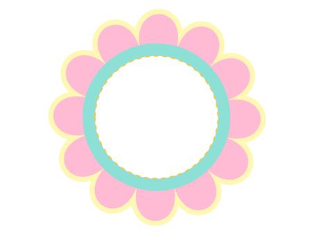 Pop Flower Pink & Light Blue