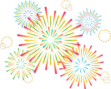 70705. Fireworks 7