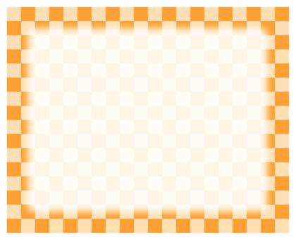 Check frame - Orange