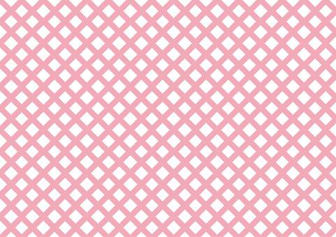 Mesh pattern pink