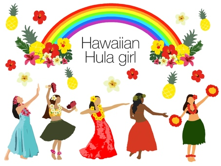 Hawaiian * Hula Girl