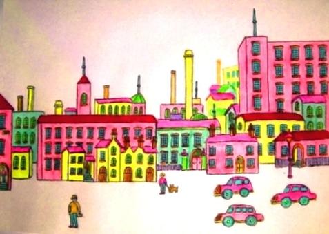 Gentle townscape