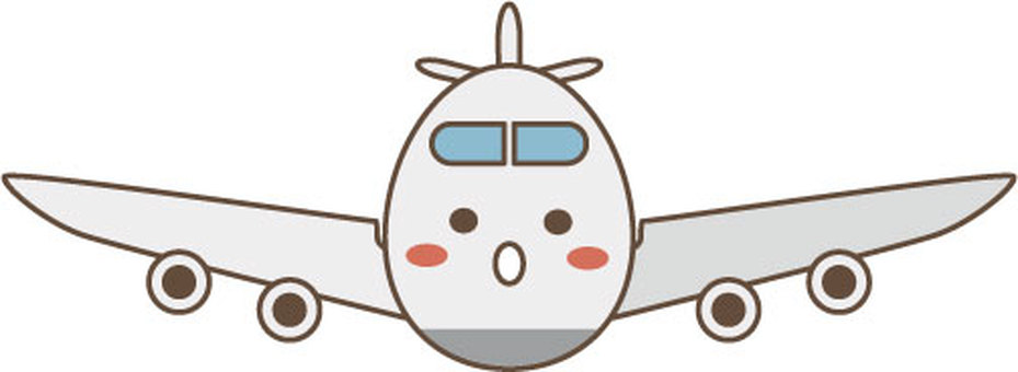 Airplane character 3
