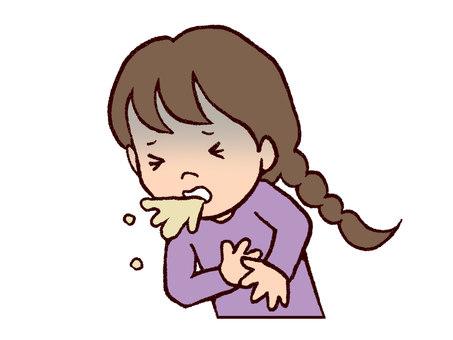Girls to vomit