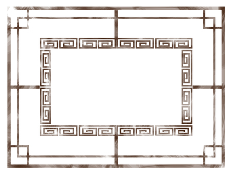 Chinese vintage style frame