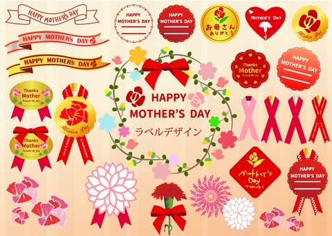 Label Design: Mother's Day