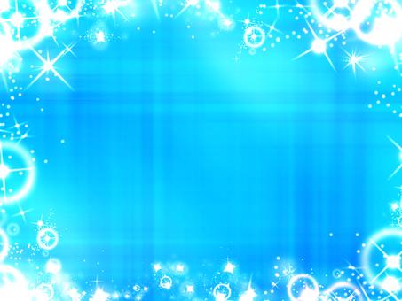 Glittering lightblue