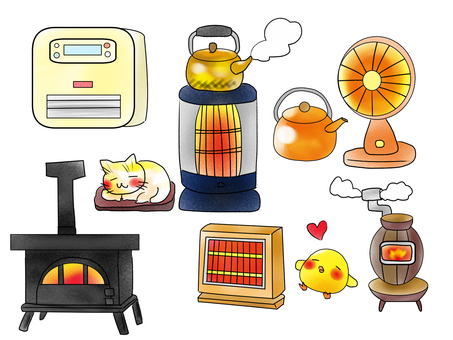 Assorted stove