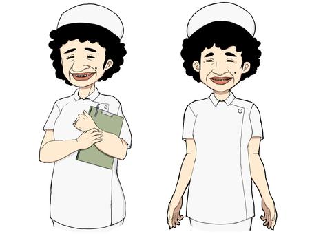 Nurse's aunt 3 (white)