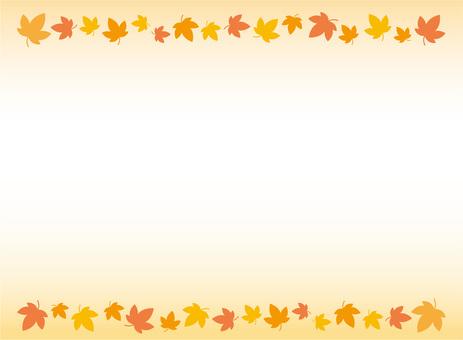 紅葉☆秋の背景画・素材・フレーム