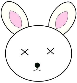 Cross eyes series 2, cross eyes rabbit