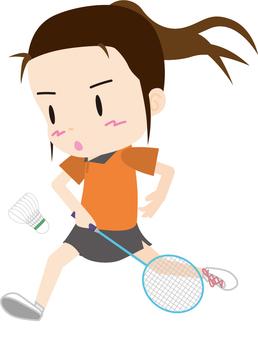 Badminton (backhand girls)