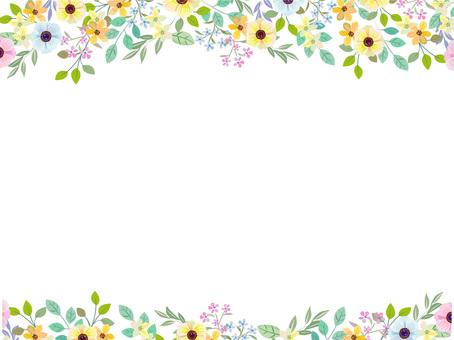초여름 꽃 프레임 2