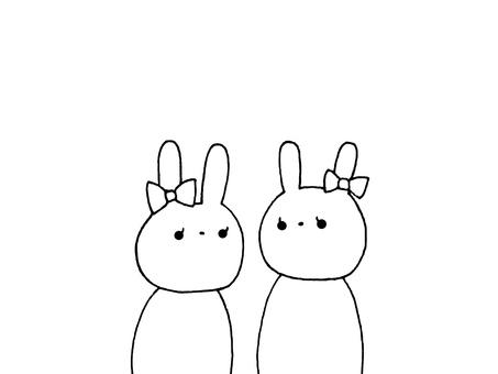 2 rabbits 1 of 1