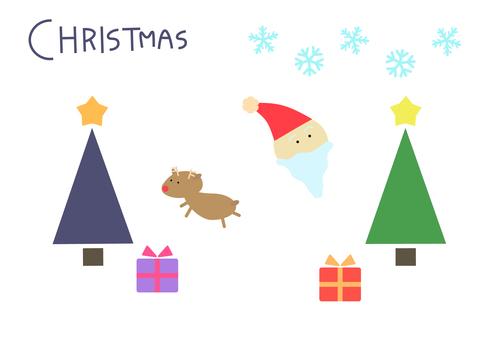 간단한 크리스마스 디자인