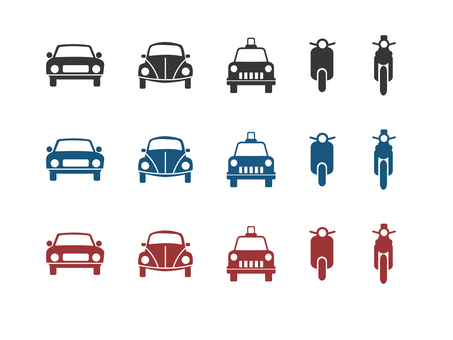 Vehicle front icon