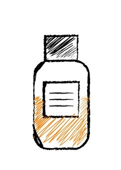 Rough vial