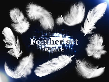 Feather set 【WHITE】