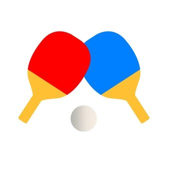 Table Tennis _ Red Blue