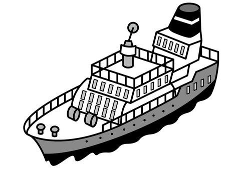 Passenger boat 2c